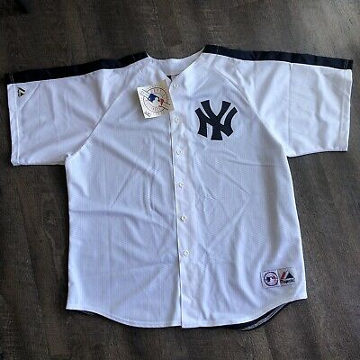 af25920b2 NEW Vintage Deadstock Majestic USA New York Yankees Baseball Jersey Size 2XL