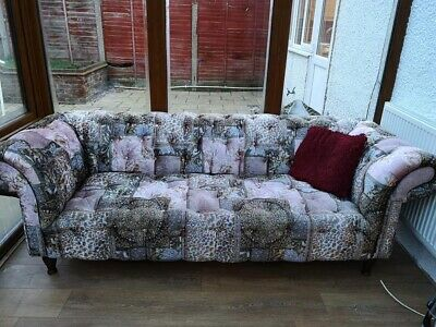 2 and 3 seater Chesterfield sofas good condition - DELIVERY AVAILABLE