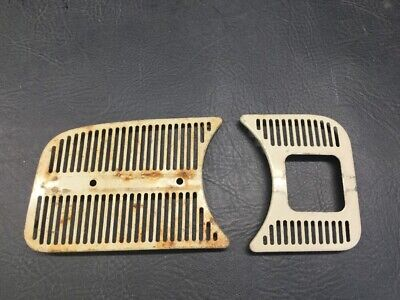 """VW AirCooled Beetle Dash Grill Assembly Set /""""Smoothed/"""" 62-67   Prt# VRD113"""