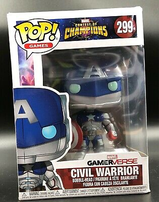 Marvel Contest of Champions: Civil Warrior No: 299 Funko Pop Vinyl