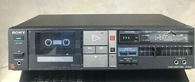 Vintage Sony TC-FX310 Stereo Cassette Player Receiver Tapecorder working