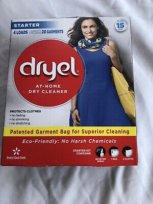 Dryel At Home Dry Cleaner Starter 4 Loads