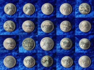 US National Parks Quarters 2010 - 2018 D/P circulated HUGE MULTI LISTING