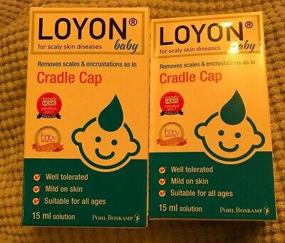 2 X 15ml New Loyon Cradle Cap Treatment