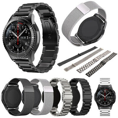 Stainless Steel Band + Milanese Strap for Samsung Gear S3 Frontier/Classic Watch
