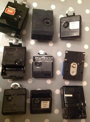 Vintage Metamec Clock Movements Battery Electric Clockmakers Parts Untested