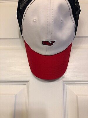 f5e71925 Vineyard Vines for Target Adult Baseball Trucker Hat Red White Blue NWT  Sold Out