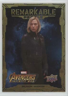 2018 Upper Deck Avengers Infinity War Remarkable People #RP5 Black Widow 1md