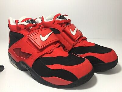 a23a5112eb WORN ONCE MEN'S NIKE AIR DIAMOND TURF 309434-007 HIGHTOPS SNEAKERS (Size ...