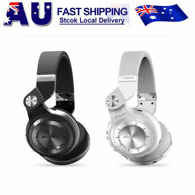 Bluedio T2S Bluetooth 5.0 Headphones Noise cancelling Wireless On Ear Headsets