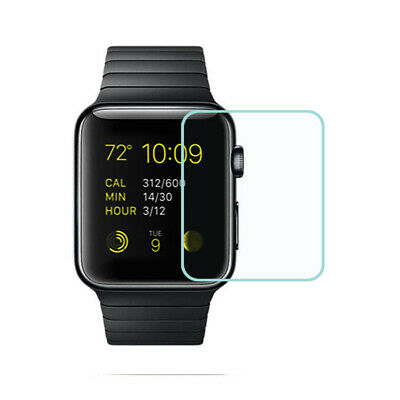 For Apple Watch 42mm Clear Tempered Glass Full Screen Protector Film Guard