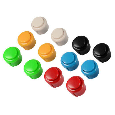 12pcs Push Buttons Replacement Button Arcade DIY Kit for JAMMA MAME Games AC803