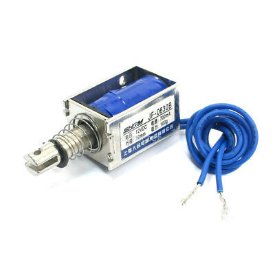 H● One Pieces JF-0630B DC 12V 700mA Pull Push Type Solenoid.