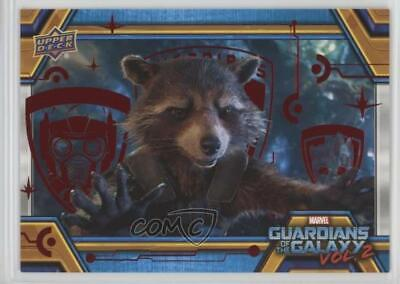 2017 Upper Deck Guardians of the Galaxy Volume 2 Red/49 This Can't be Good 0ad