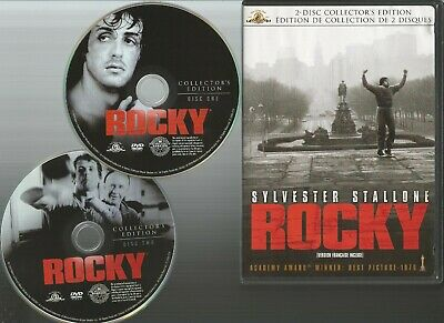 Rocky DVD 2007 2-Disc Set Canadian Collectors Edition with slip case VG Cond