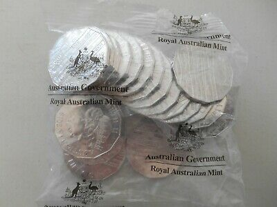 2019 50c INTERNATIONAL YEAR OF INDIGENOUS LANGUAGES UNC SEALED MINT BAG 20 Coin