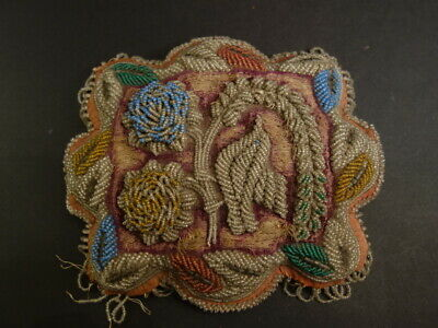 Antique Iroquois Whimsey Beaded Pin Cushion Native American Art 1900-1910 (6)