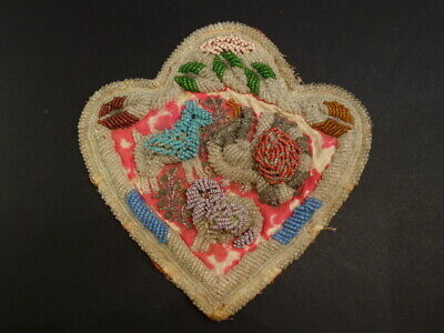 Antique Iroquois Whimsey Beaded Pin Cushion Native American Art 1900-1910 (4)