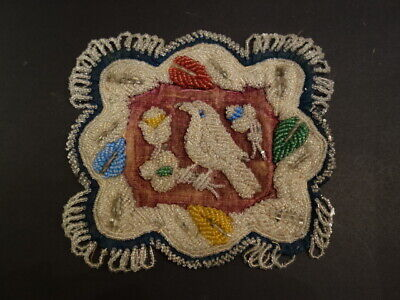 Antique Iroquois Whimsey Beaded Pin Cushion Native American Art 1900-1910 (5)