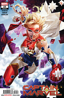 Captain Marvel #1 - 10 Main Movie Marvels 25Th 1St Star Cover App (2019) Marvel