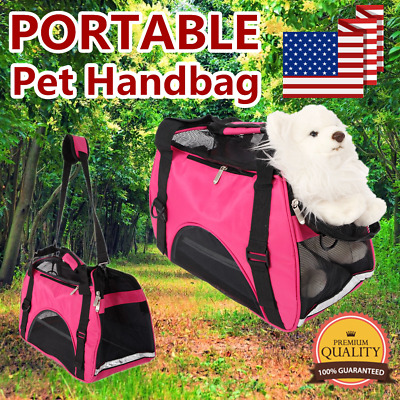 Pet Handbag Carrier Comfort Pet Dog Travel Carry Bag For Small Animals Cat Puppy