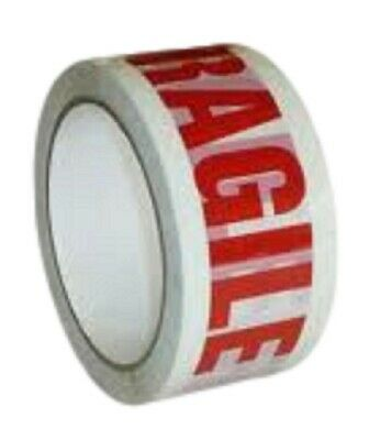Packing Tape Fragile Printed Parcel Carton Sealing Tape *Low Noise* 48MM x 66M