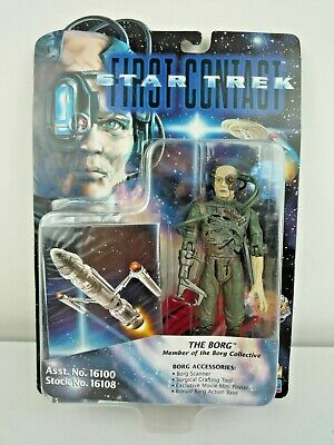 Star Trek First Contact The Borg Action Figure / 1996 Playmates Toys / Sealed