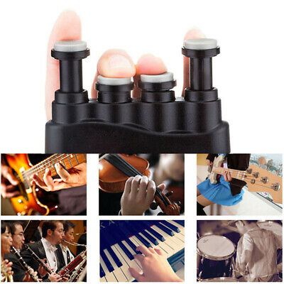 1 Pcs Adjustable Hand Exerciser Finger Strenth Trainer for Guitar Piano Player