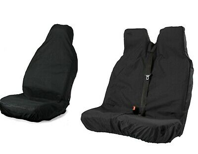 FORD TRANSIT CUSTOM Heavy Duty WATERPROOF RUGGED Driver Seat Cover PROTECTOR