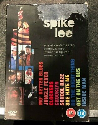SPIKE LEE COLLECTION 9 Film DVD Box Set DO THE RIGHT THING Jungle Fever CROOKLYN