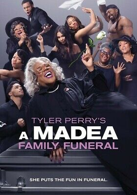 Tyler Perry's A Madea Family Funeral (DVD,2019)
