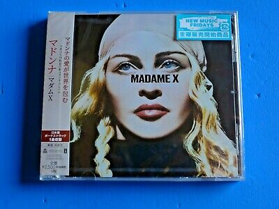 2019 JAPAN SHIPPING WITH TRACKING NUMBER MADONNA MADAME X CD w/BONUS TRACK
