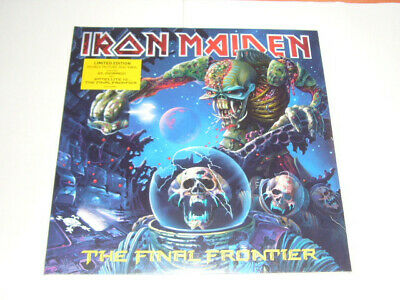 Iron Maiden-The Final Frontier Double Vinyl LP Ltd Picture Europe 2010 SEALED