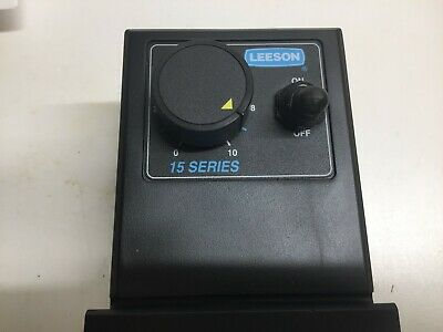 Leeson Speed Control 15 series 184696.00 120/240 Volt AC 0-90 /180 volts DC