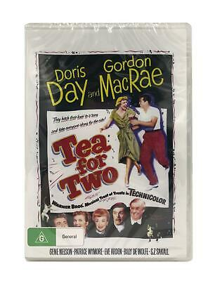 Tea for Two DVD All Regions (Plays Worldwide) New & Sealed