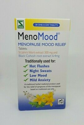 MenoMood Menopasue Mood Relief Tablets - 30 Tablets
