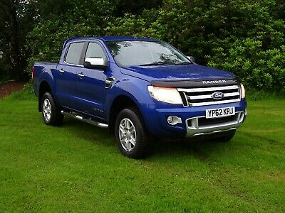 2012-62  Ford Ranger 2.2TDCi ( 150PS ) 4x4 Double Cab, Limited, Automatic NO VAT