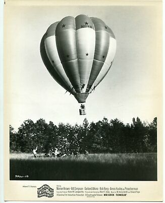 Preacherman meets Widderwoman 8x10 Promo still- Hot Air Balloon- FN