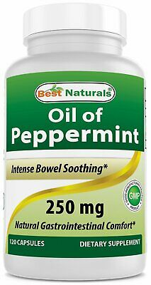 Best Naturals Oil of Peppermint 250 mg 120 Capsules