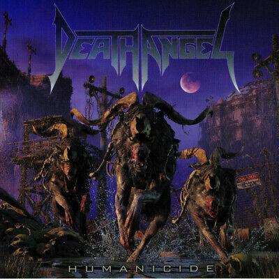 Death Angel ‎– Humanicide 2019 COLLECTOR'S SEALED DIGIPACK CD! FREE SHIPPING!
