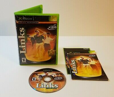 LINKS 2004 GOLF Xbox Microsoft 2003 Edition Video Game CD with