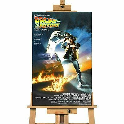 Back To The Future Movie  Collection  Canvas Print  Wall Art Crafted In The UK