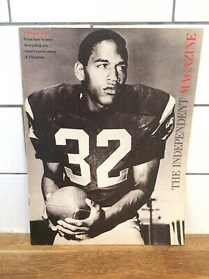 The Independent Magazine 1st Octoer 1994 OJ Simpson article and cover