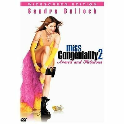 Miss Congeniality 2: Armed and Fabulous (DVD, 2005, W/S) NEW !!FREE SHIP! C1