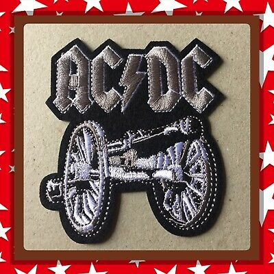 🇨🇦 Ac/dc Metal Trash  Embroidered Patch  Sew On/stick On Clothing/new 🇨🇦 #9