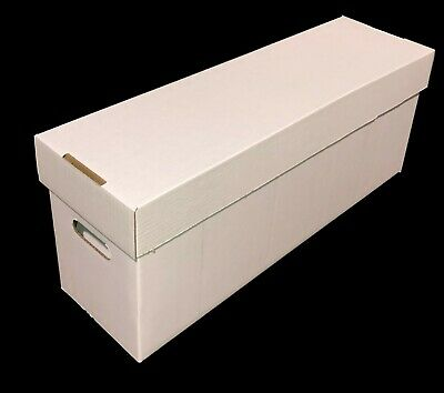 20 CSP COLLECT SAVE PROTECT Long DOUBLEWALL Cardboard Comic Book Storage Boxes