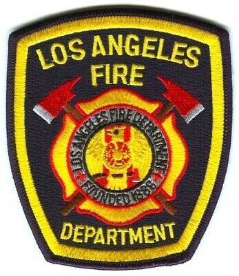 Los Angeles Fire Department Patch California CA