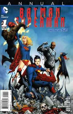 Batman/Superman (2013 series) Annual #1 in NM + condition. DC comics [*ee]