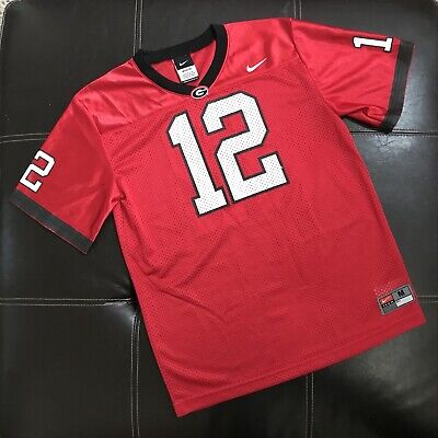 f3ef086a929 University of Georgia Bulldogs #12 Nike Youth/Kids/Boys College Football  Jersey