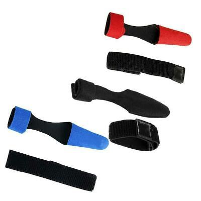 Expandable Fishing Rod Pole Sleeve Cover Glovetector Bag + Rod Tie Strap Fast sh